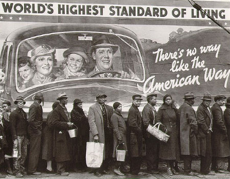 The American Dream - A Great Depression
